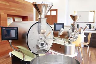 セラミック遠赤外線コーヒー焙煎機